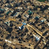 Egypt, Village from the air