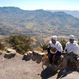 Ethiopia, Mountains near Lalibella