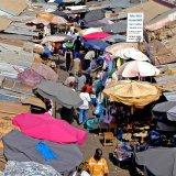 Gambia, Banjul market