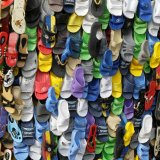 Gambia, Shoe stall