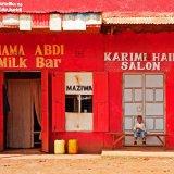 Kenya, village scene
