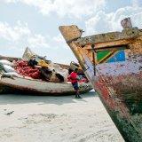 Tanzania, Fishing boats