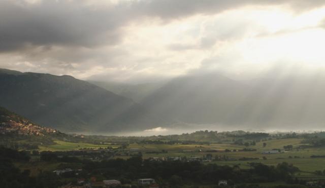 D'Abruzzo hillside