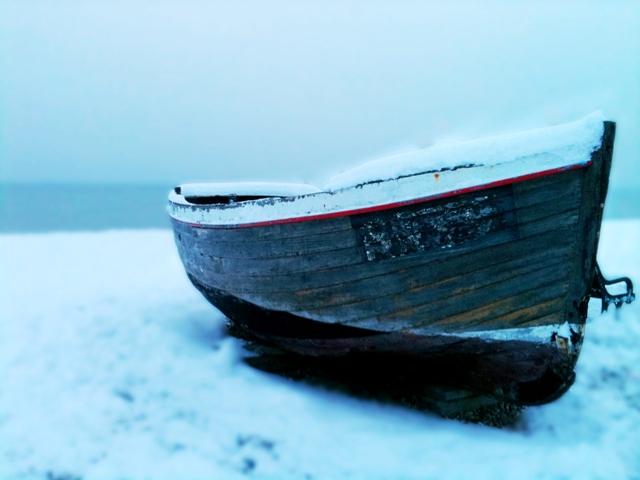 Snow boat Hove