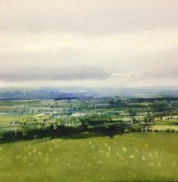 David Parfitt- Somerset Landscape