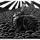 Winter Hare on Sandness Hill
