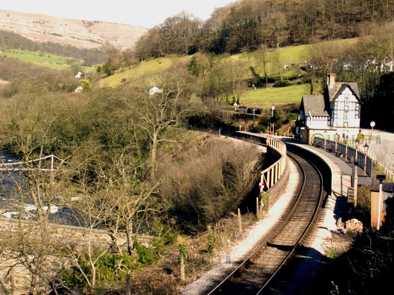 A WELSH RAILWAY STATION
