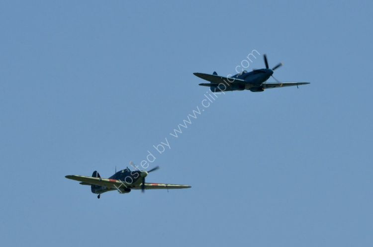 Aircraft - Hawker Hurricane & Supermarine Spitfire - Never in the field of human conflict has so much been owed to so few