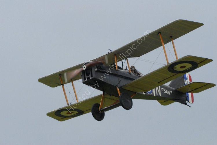 Aircraft - SE5a (Sopwith Camel) - Flypast