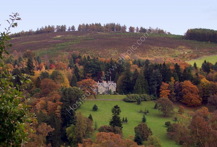 Autumn - Estate in the Perthshire Hills