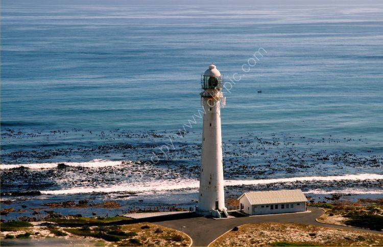 Building - Slangkop Lighthouse, Kommetjie, South Africa