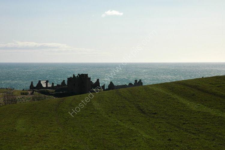 Castle - Dunnottar Castle (Silhouette)