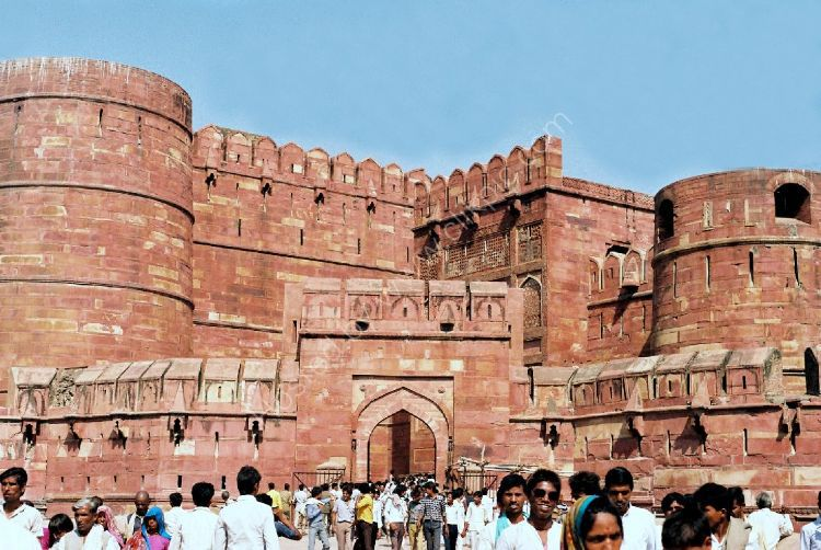 Castle - The Red Fort - The residence of the Mughal Emperor of India for nearly 200 years, until 1857