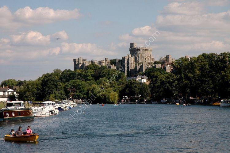 Castle - Windsor Castle and the River Thames