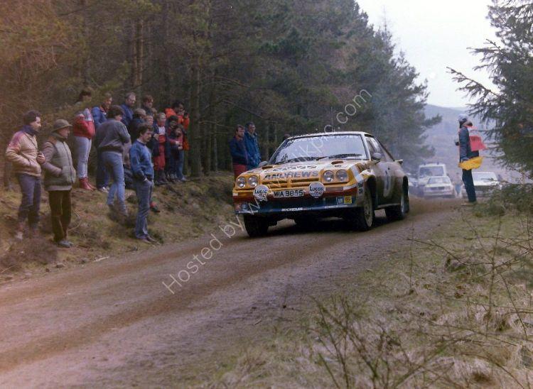 Granite City Rally - Russell Brookes, (Opel Manta) Car 3