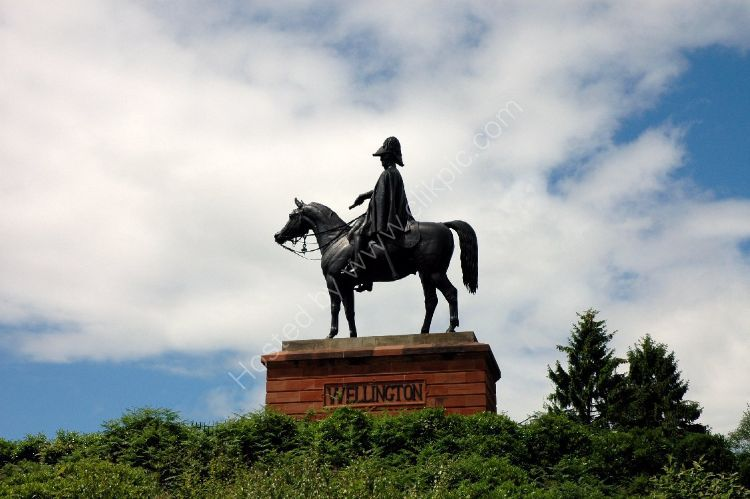Monument - Duke of Wellington Statue, at Aldershot
