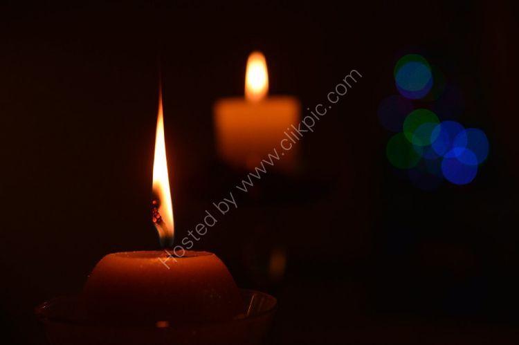 SCOTLAND - Candles at Christmas