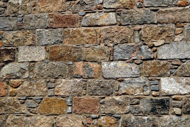 SCOTLAND - Granite Wall