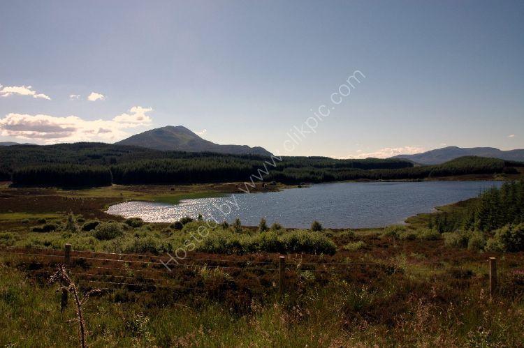 SCOTLAND - Loch Kinardochy by Schiehallion