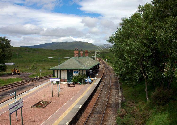 SCOTLAND - Rannoch Station