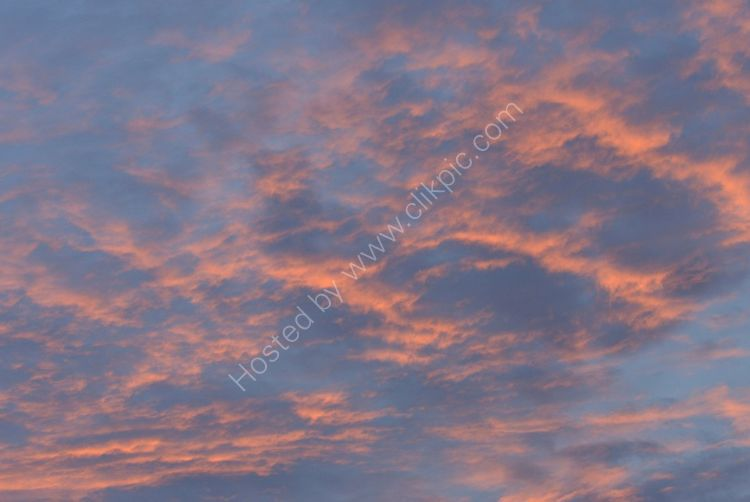 SCOTLAND - Red Sky at Night over West Lothian