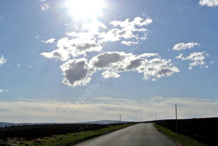 SCOTLAND - The Cabrach, on the Rhynie to Dufftown Road