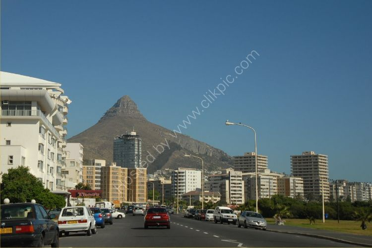 SOUTH AFRICA - Lion's Head Rock (from Cape Town)