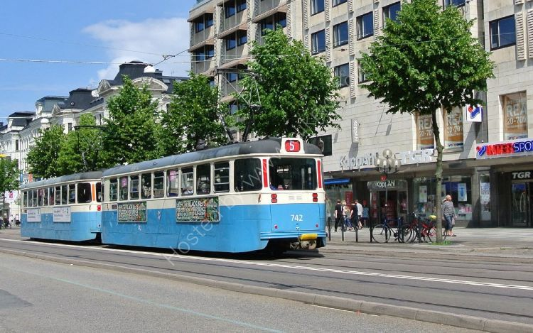SWEDEN - Gothenburg Tram