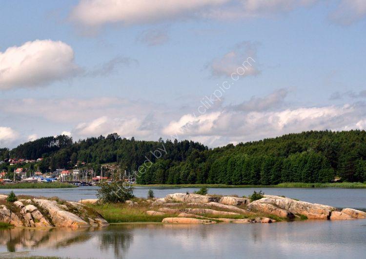 SWEDEN - Lake near Ljungskile, Sweden