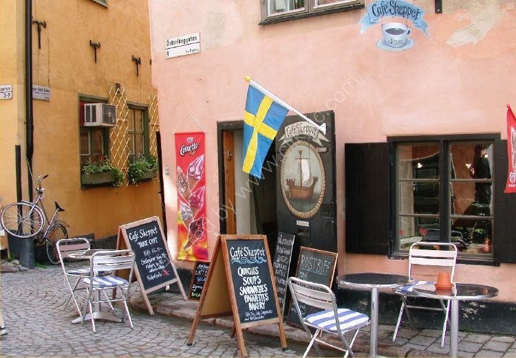 SWEDEN - Oldest Cafe in Sweden
