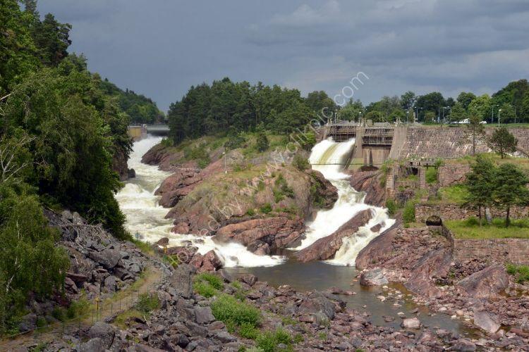 SWEDEN - The Falls at Trollhättan
