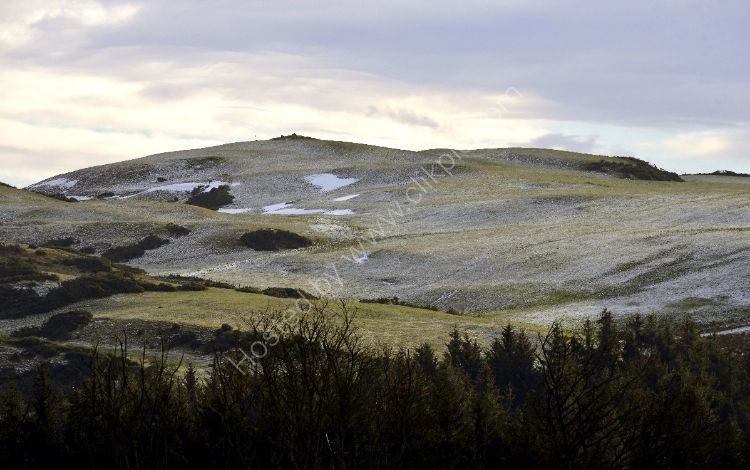 Winter - The Bathgate Hills with a dusting of snow