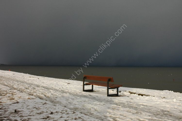 Winter - Well, would you sit there with an impending blizzard heading your way?