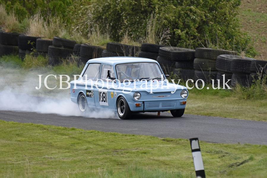 Hillman Imp driven by Graham Briggs