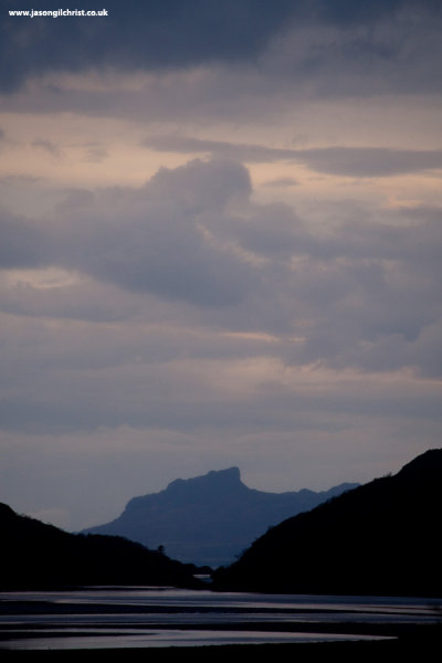 An Sgurr from Loch Moidart