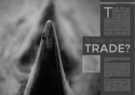 Biosphere Magazine To Trade or Not to Trade Jason Gilchrist Rhino Horn