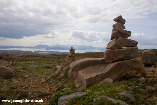 Cairns of the Applecross Peninsula