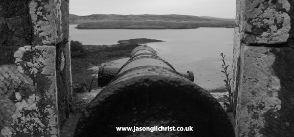 Cannon at Dunvegan Castle