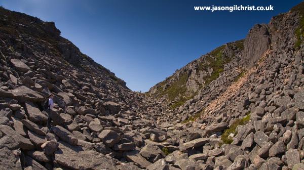 Chalamain Gap, Cairngorm Hills