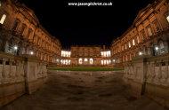 Edinburgh University Old College at night