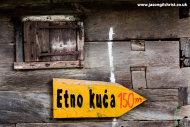 Etno kuca 150m, Okic