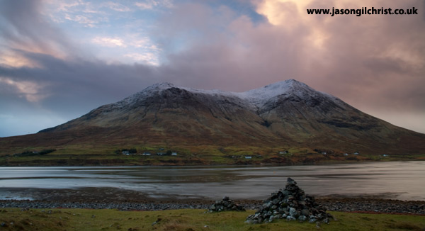 Dawn light on Glamaig