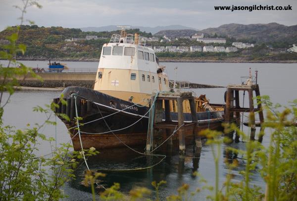 Kyleakin fishing boat