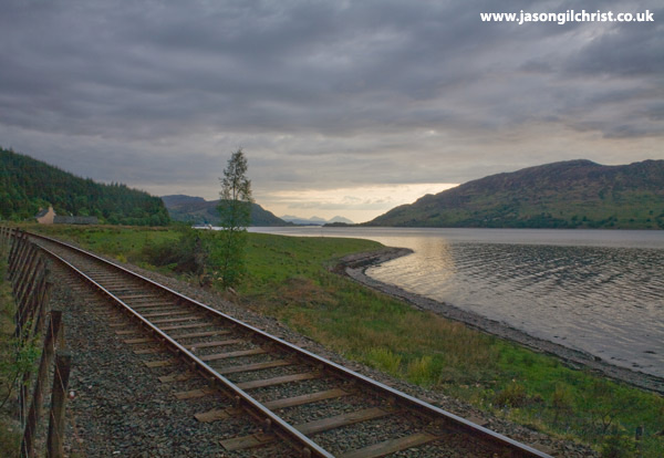 Railway by Loch Carron