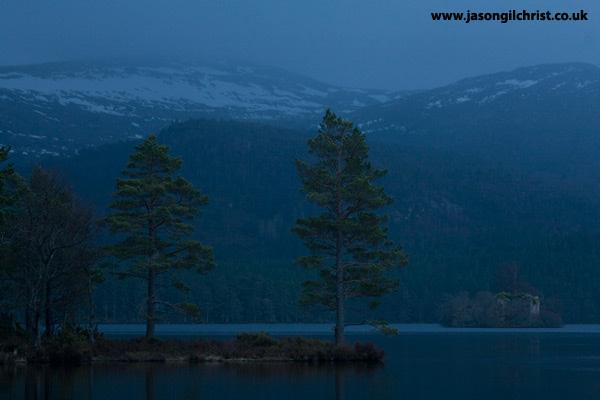 Dawn on Loch an Eilein