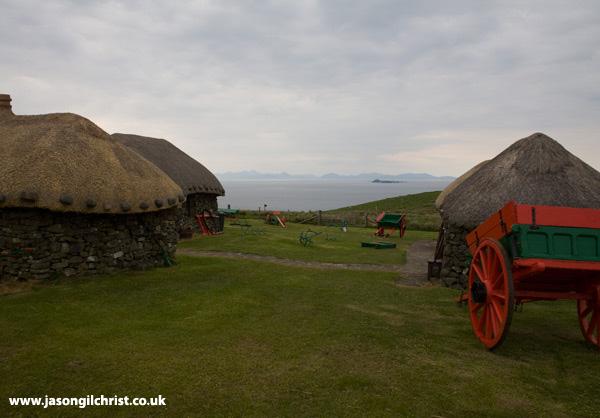 Highland island village