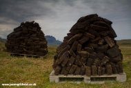 Peat drying