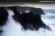 Storm at Eshaness