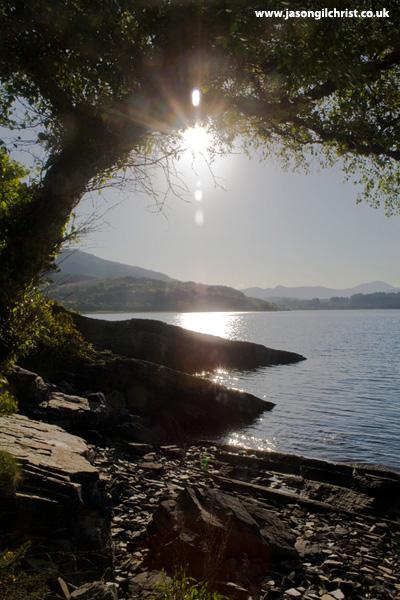 Sunshine over Loch Alsh