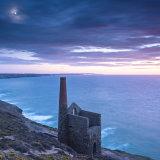 Moonrise over Wheal Coates